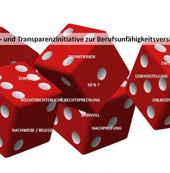 Qualitäts- und Transparenzinitiative zur Berufsunfähigkeitsversicherung: