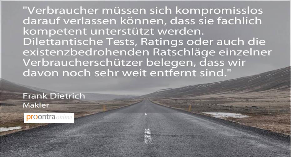 procontra Startseite Fachmakler Frank Dietrich