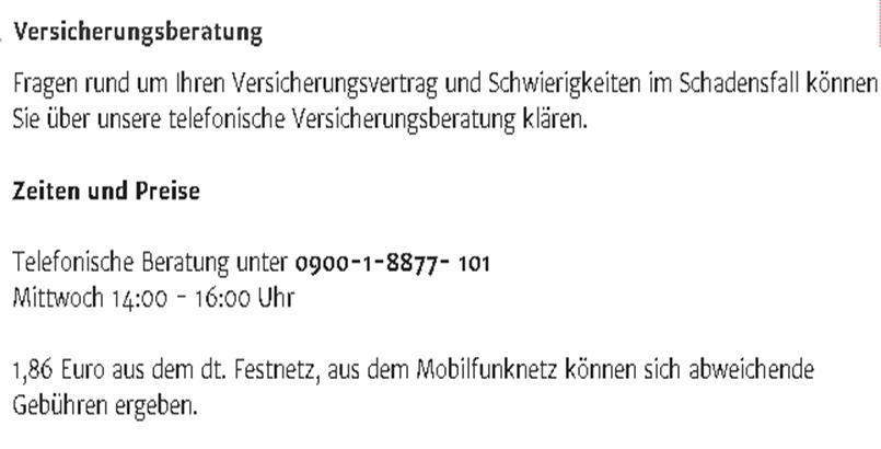11-1 Petition für Mindeststandarts im Verbraucherschutz. 2. Runde