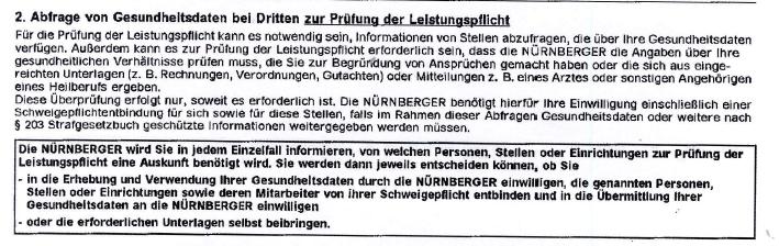 22-2 Öffentlichkeit erzeugt tatsächlich Eile? Nürnberger Lebensversicherung.