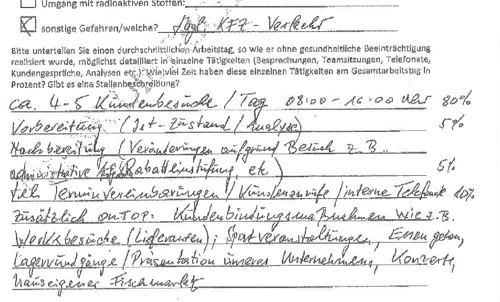 1 Verzögern und umdeuten – Leistungsfallprüfung BU.