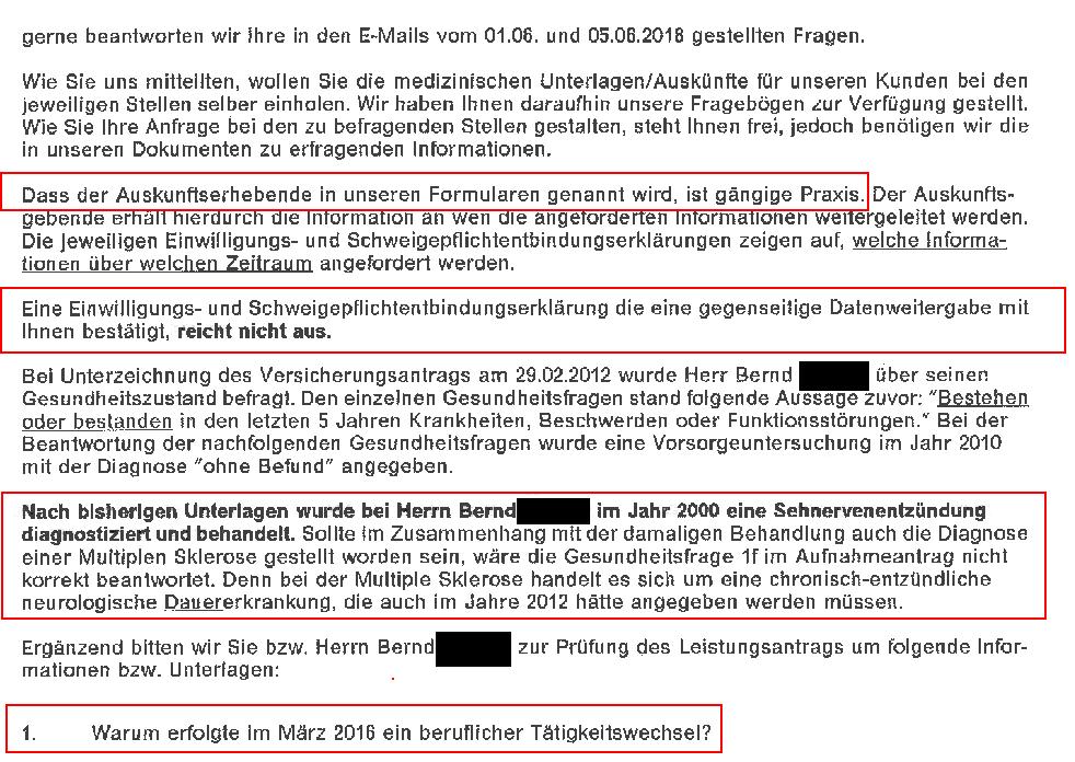 asdf Verzögern und umdeuten – Leistungsfallprüfung BU.