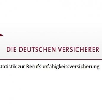 Berufsunfähigkeitsversicherung-Statistiken des GDV